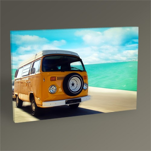 Tablo 360 Retro Beach Van Tablo 45X30