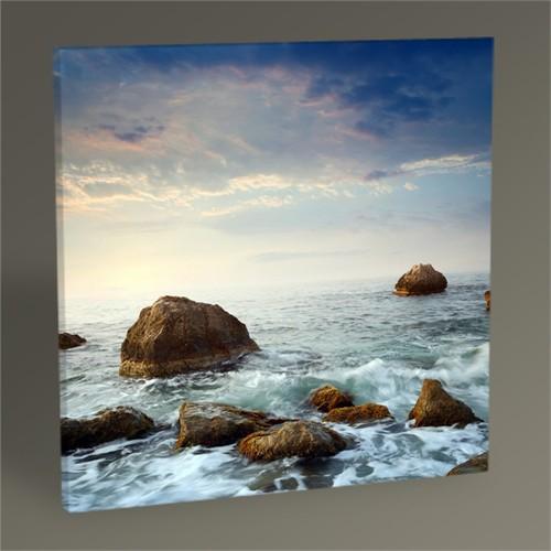 Tablo 360 Denizde Kayalar Tablo 30X30