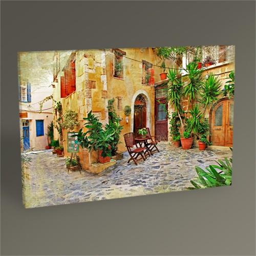 Tablo 360 Nostaljik Sokak Iı Tablo 45X30