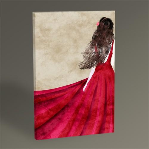 Tablo 360 Red Dress Tablo 45X30