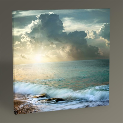 Tablo 360 Sea Sunset Tablo 30X30