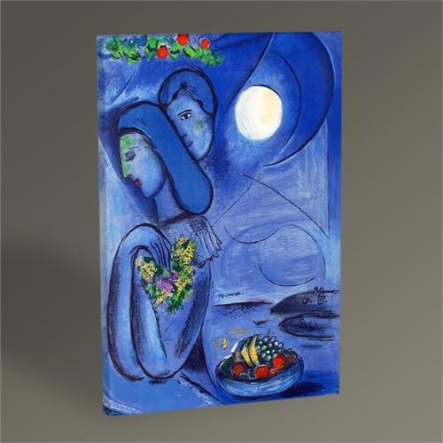 Tablo 360 Marc Chagall ''Saint Jean Cap-Ferrat'' 45X30