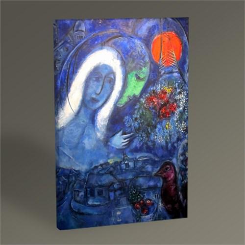 Tablo 360 Marc Chagall Field Of Mars 45X30