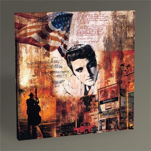 Tablo 360 Elvis Presley Tablo 30X30
