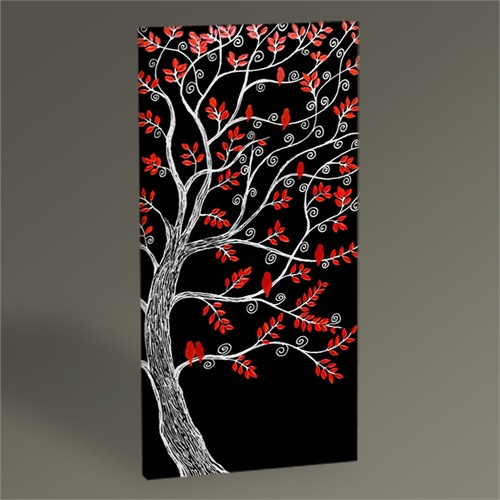 Tablo 360 Abstract Tree Tablo 60X30