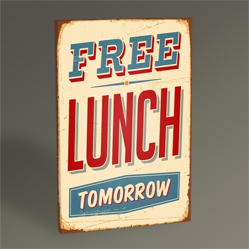Tablo 360 Free Lunch Tablo 45X30