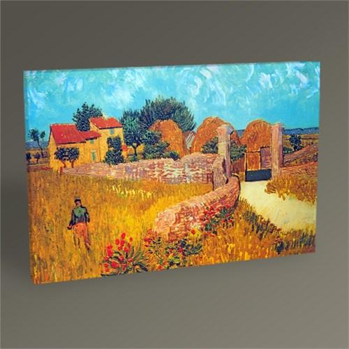 Tablo 360 Vincent Van Gogh Ferme En Provence Tablo 45X30