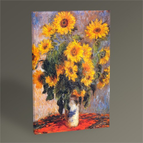 Tablo 360 Claude Monet Les Tournesols Tablo 45X30