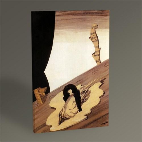 Tablo 360 Rene Magritte Untitled Collage Tablo 45X30