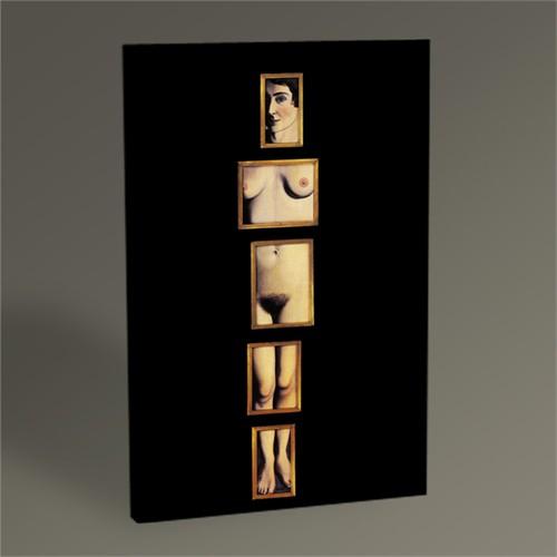 Tablo 360 Rene Magritte Eternal Evidence 45X30