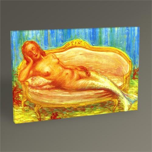 Tablo 360 Rene Magritte The Forbidden Universe 45X30