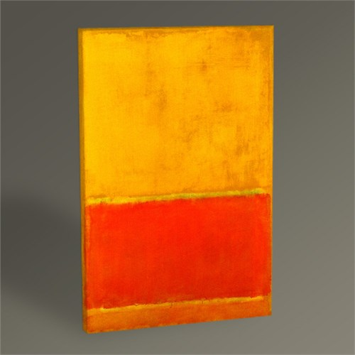 Tablo 360 Mark Rothko The Green Stripe Tablo 45X30