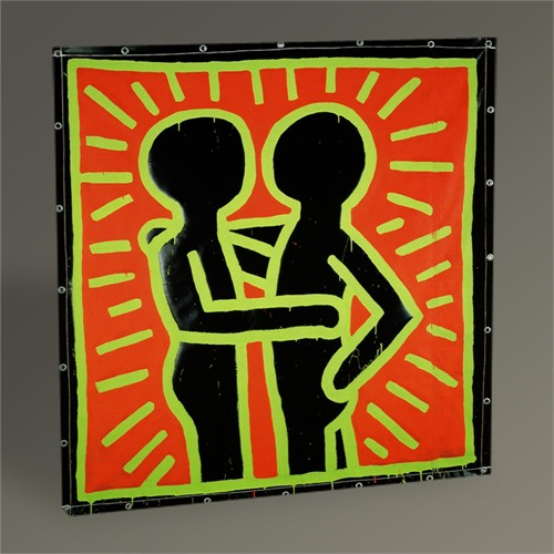 Tablo 360 Keith Haring Untitled,1982 Tablo 30X30
