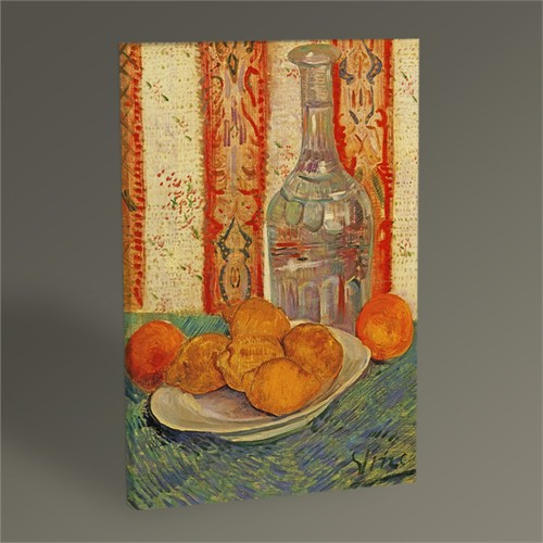 Tablo 360 Vincent Van Gogh Still Life With Carafe And Lemons Tablo 45X30