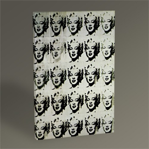 Tablo 360 Andy Warhol The Twenty-Five Marilyns 45X30