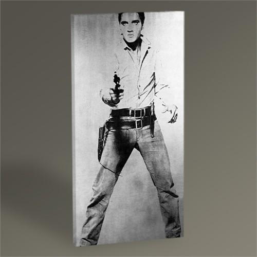 Tablo 360 Andy Warhol Elvis Presley Tablo 60X30