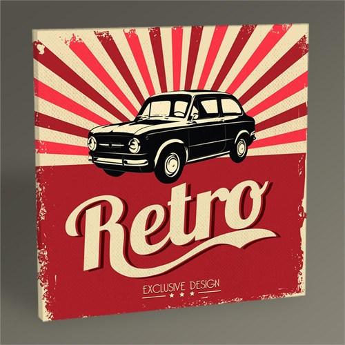 Tablo 360 Retro Car Tablo 30X30
