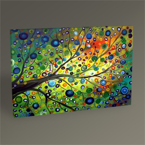 Tablo 360 Soyut Ağaç Tablo 45X30