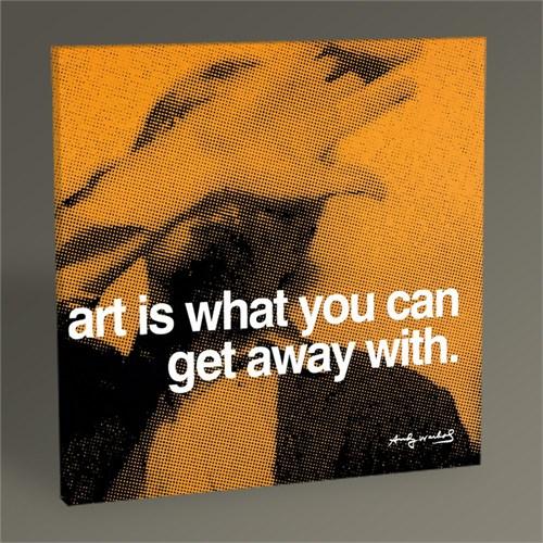 Tablo 360 Andy Warhol Art 30X30