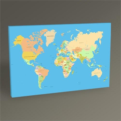 Tablo 360 Dünya Haritası Tablo 45X30