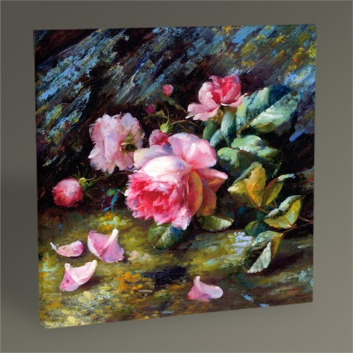 Tablo 360 Pink Rose Tablo 30X30
