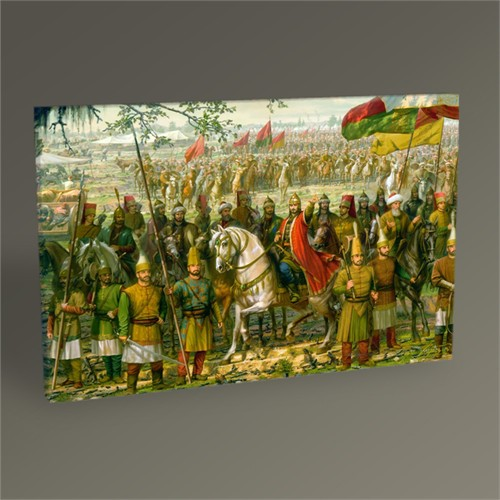 Tablo 360 Osmanlı Ordusu Tablo 45X30