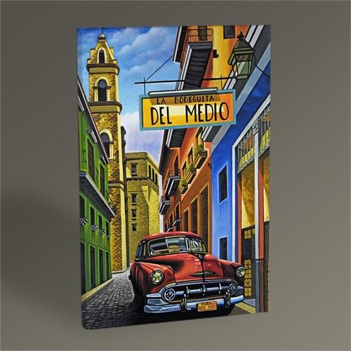 Tablo 360 Cuba Car Iıı Tablo 45X30