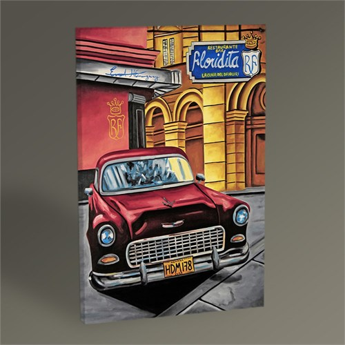 Tablo 360 Cuba Car Vı Tablo 45X30
