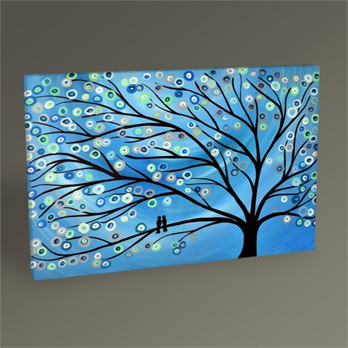 Tablo 360 Abstract Iı Tree Tablo 45X30