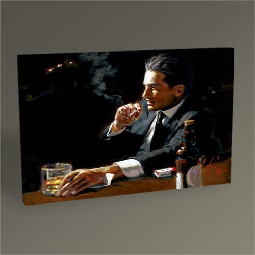 Tablo 360 Smoking Man Tablo 45X30