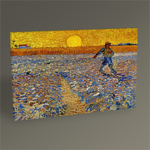 Tablo 360 Vincent Van Gogh-The Sower Tablo 45X30
