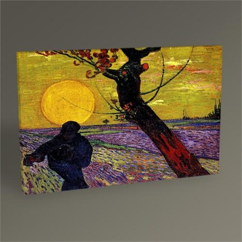 Tablo 360 Vincent Van Gogh-The Sower Tablo 45X30