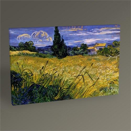 Tablo 360 Vincent Van Gogh-Green Wheat Field With Cypress 45X30