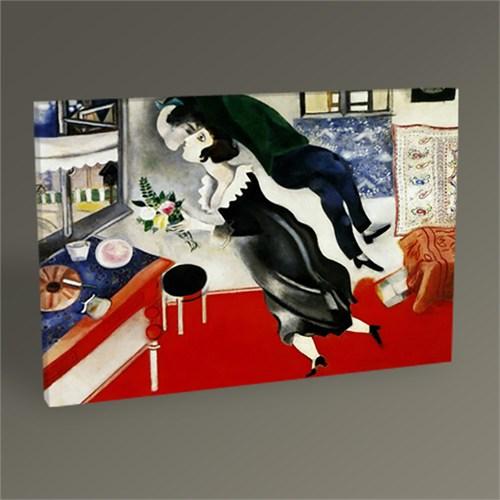 Tablo 360 Marc Chagall The Brithday Tablo 45X30