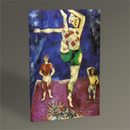 Tablo 360 Marc Chagall The Three Acrobats Tablo 105X70