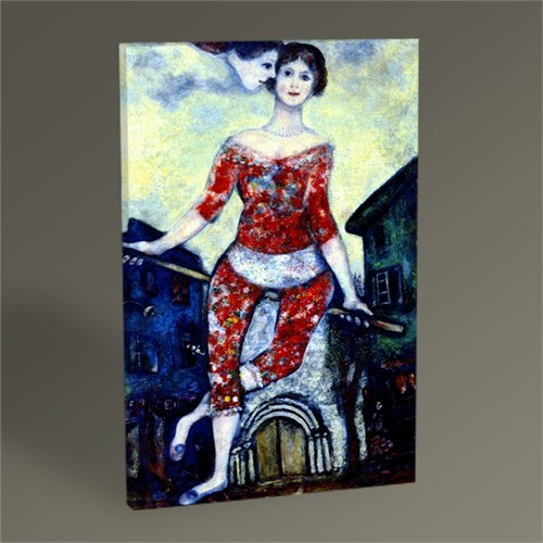 Tablo 360 Marc Chagall The Acrobat Tablo 45X30