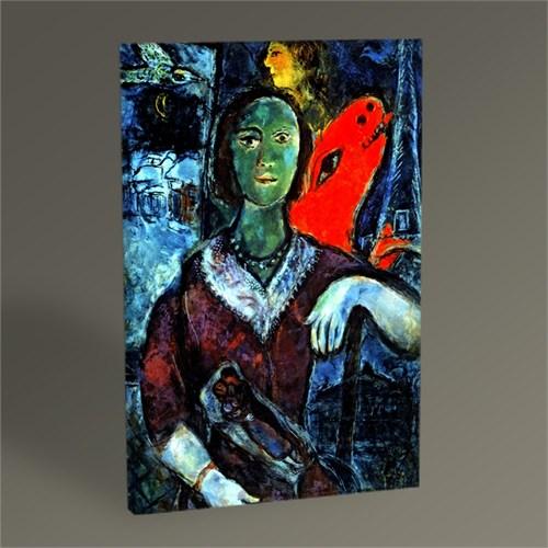 Tablo 360 Marc Chagall Portrait Of Vava Tablo 45X30