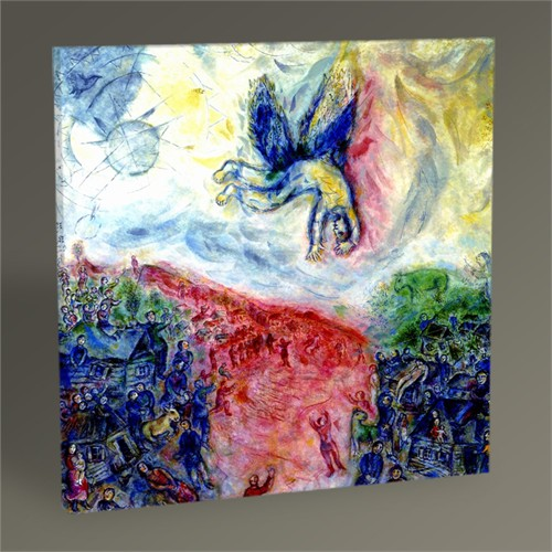Tablo 360 Marc Chagall The Fall Of Icarus Tablo 30X30