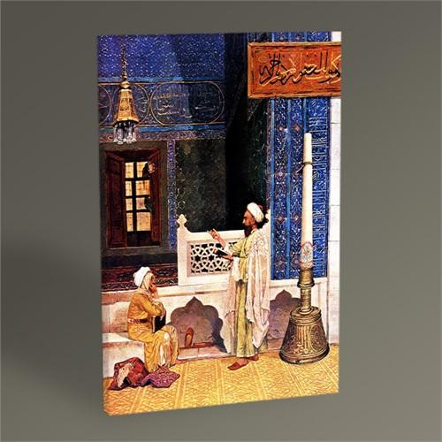 Tablo 360 Osman Hamdi Bey Bursa'da Yeşil Cami'de Tablo 45X30