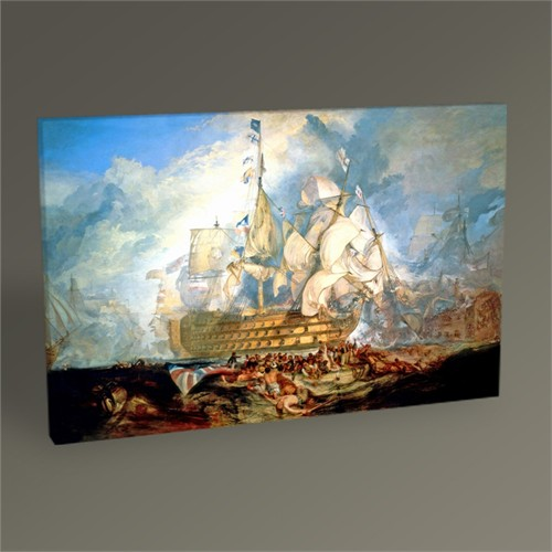 Tablo 360 J.M.W. Turner-The Battle Of Trafalgar 45X30