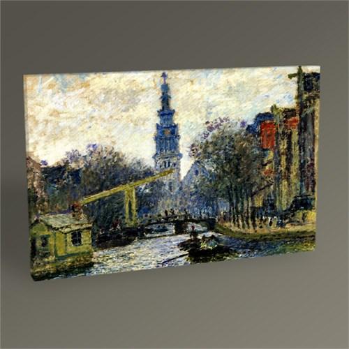 Tablo 360 Claude Monet Kanal, Amsterdam 45X30