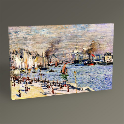 Tablo 360 Claude Monet Le Havre Limanı Tablo 45X30