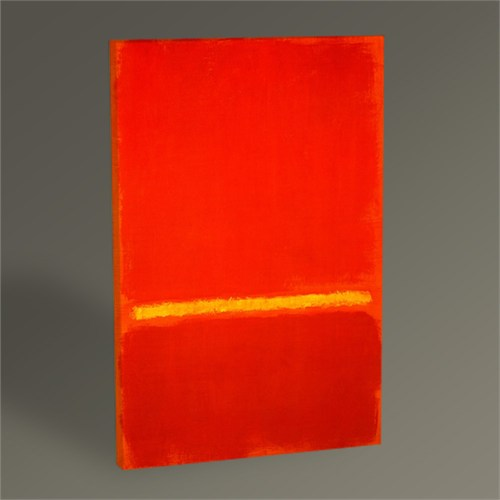 Tablo 360 Mark Rothko-Red,Yellow,Red Tablo 45X30