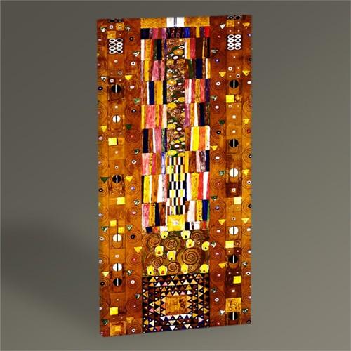 Tablo 360 Gustav Klimt The Stoclet Frieze Tablo 60X30