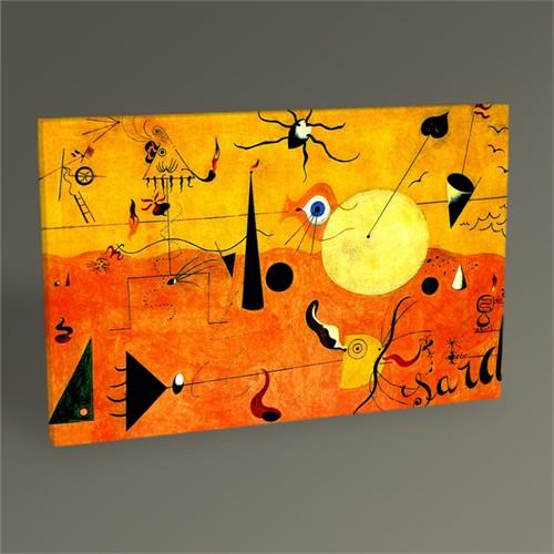 Tablo 360 Joan Miro The Hunter Tablo 45X30