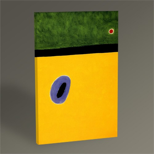 Tablo 360 Joan Miro Yellow Tablo 45X30
