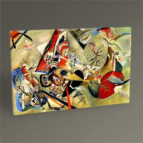 Tablo 360 Wassily Kandinsky In Grey Tablo 45X30