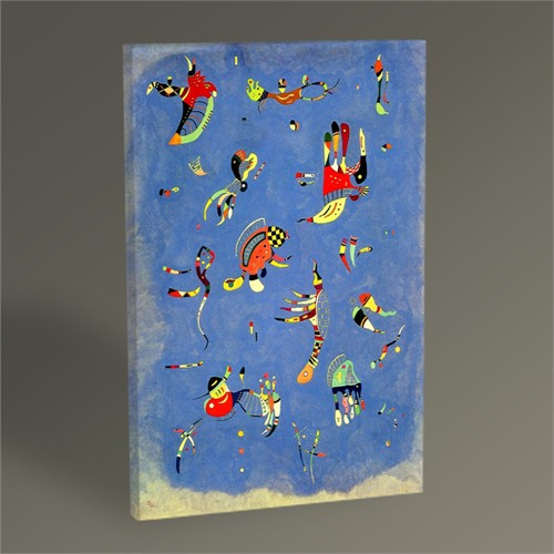 Tablo 360 Wassily Kandinsky Sky Blue Tablo 45X30