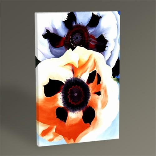 Tablo 360 Georgia O'keeffe Poppies 45X30