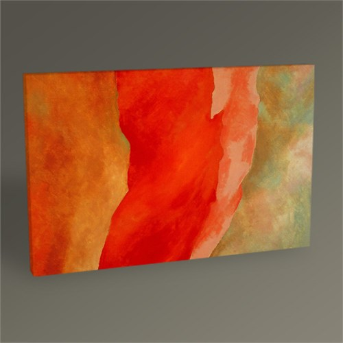 Tablo 360 Georgia O'keeffe It Was Red And Pink 45X30